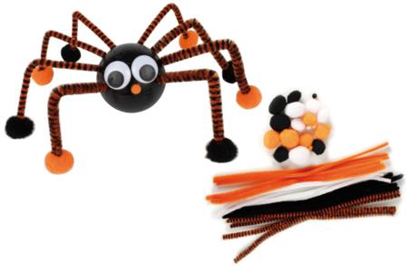 Kit pompons et chenilles Halloween - Halloween – 10doigts.fr
