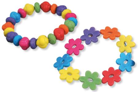 Perles en acrylique à l'aspect mat - Set de 200 - Perles acrylique – 10doigts.fr
