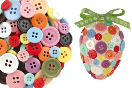 Boutons ronds en plastique - 300 pièces - Boutons – 10doigts.fr