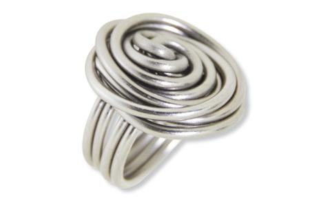 Outillages pour création de bagues en fil aluminium - Set de 2 outils - Fils aluminium – 10doigts.fr