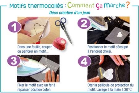 Tissus thermocollants pailletés - Set de 3 - Transferts et Thermocollants – 10doigts.fr