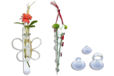 Soliflores en verre - Supports en Verre – 10doigts.fr
