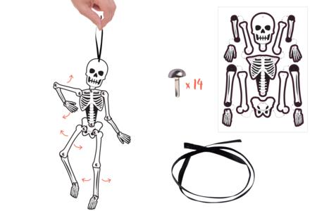 Mobile squelette articulé - Halloween – 10doigts.fr