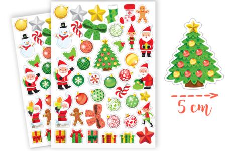 Gommettes de Noël - 2 planches - Gommettes Noël – 10doigts.fr