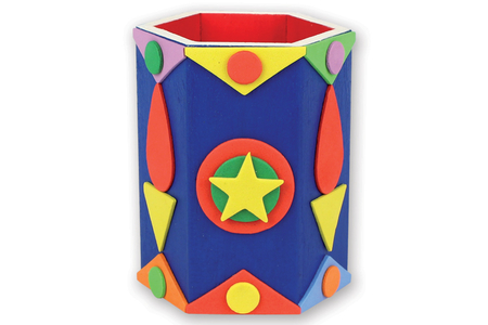 Stickers assortis en caoutchouc - 144 pièces - Stickers en caoutchouc souple – 10doigts.fr