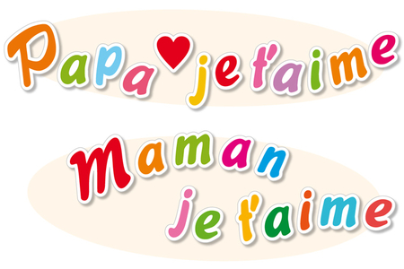 """Stickers lettres """"Maman, Papa""""- 518 stickers - Bullet Journal, Planner – 10doigts.fr"""