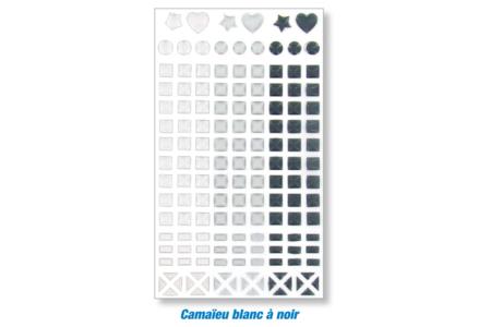 Carnets kraft déco stickers mosaïques - Activités enfantines – 10doigts.fr