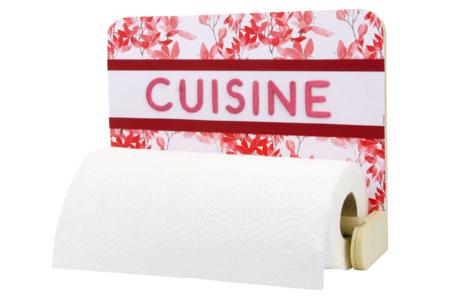 Dérouleur essui-tout en bois  - Cuisine et vaisselle – 10doigts.fr