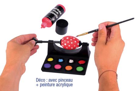 Support pour décoration d'oeufs - Décoration du plastique – 10doigts.fr