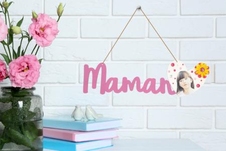 suspension MAMAN - Fête des Mères – 10doigts.fr