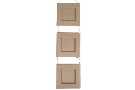 Mini cadres reliés en papier mâché - Cadres en carton – 10doigts.fr