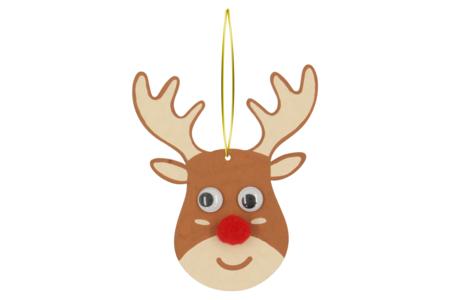 Suspension renne de Noël - Décoration du sapin – 10doigts.fr