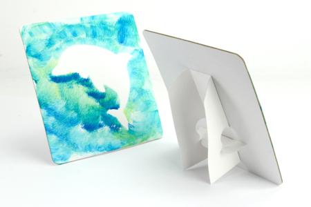 Atelier peinture et pochoirs Océan - Pour 5 personnes - Kits créatifs et activités clés en main – 10doigts.fr
