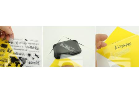 Tampons transparents Noël - 4 pièces - Tampons transparents en silicone – 10doigts.fr
