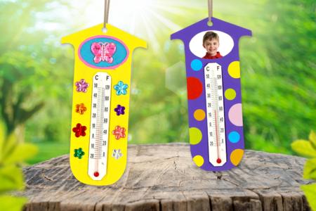 Thermomètre à personnaliser - Météo – 10doigts.fr