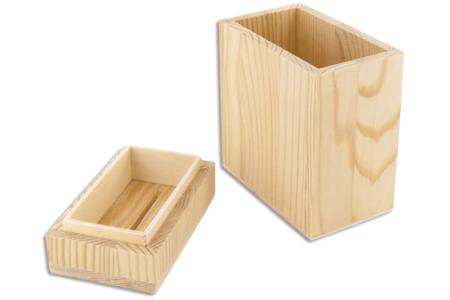 Tirelire en bois - Tirelires – 10doigts.fr