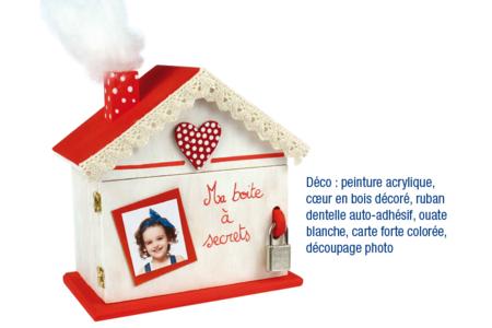 Tirelire maison - Tirelires – 10doigts.fr