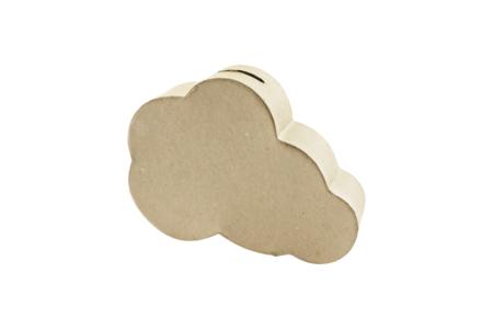 Tirelire nuage en papier mâché - Boîtes – 10doigts.fr