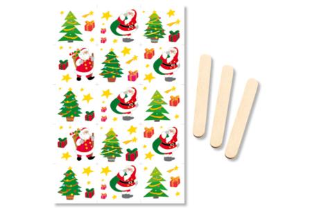 Transferts décalcomanies - Noël - Transferts, décalcomanies – 10doigts.fr