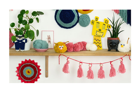 Livre : L'atelier laine - Livres Laine et Tricot – 10doigts.fr