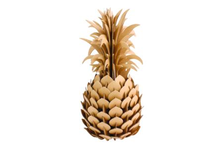 Trophée ananas à construire - Déco de la maison – 10doigts.fr