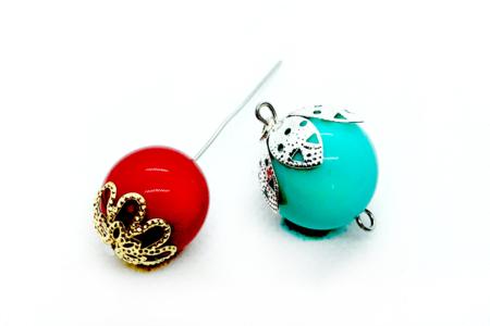 Décors pour perles or et argent - 24 décors - Perles intercalaires & charm's – 10doigts.fr