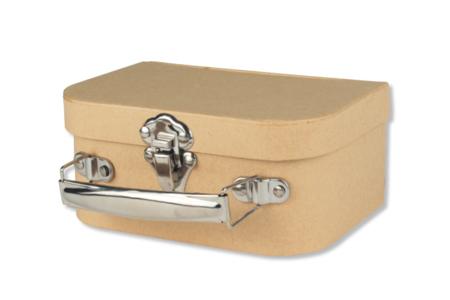 Valisette à bijoux en carton - Rangements – 10doigts.fr