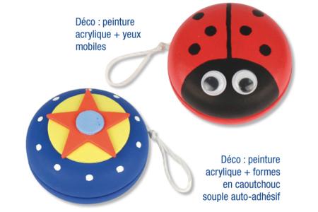 Yoyo en bois - Activités enfantines – 10doigts.fr