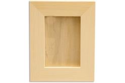 Cadre photo en bois avec vitre 32 x 26 cm - Cadres photos – 10doigts.fr