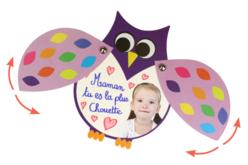 Cartes hiboux mobiles - kit pour 6 réalisations - Carterie – 10doigts.fr