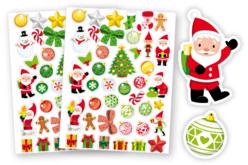 Gommettes de Noël - Stickers de fêtes – 10doigts.fr