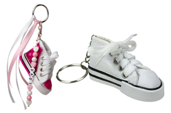 Porte-clefs Baskets - Set de 6