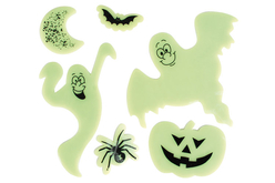 Stickers Halloween phosphorescents pour fenêtres