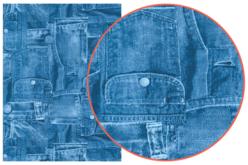 Papier Décopatch Jeans - 3 feuilles  N°381 - Papiers Décopatch – 10doigts.fr