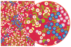 Décopatch N° 383 - Set de 3 feuilles - Fleurs – 10doigts.fr