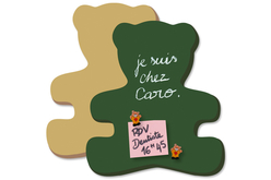 Grand Ourson en bois médium - Supports plats en bois médium (MDF) – 10doigts.fr