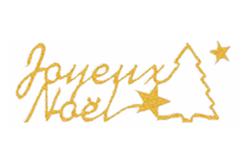 """Stickers Peel Off dorés """"Joyeux Noël"""" - Stickers contours, Peel off – 10doigts.fr"""