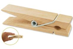 Méga-pinces en bois