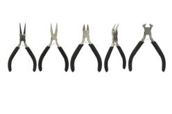 Pinces pour bijoux assorties - Set de 5 - Pinces et enrouleurs – 10doigts.fr