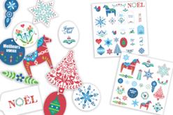 Formes en papier Noël - 50 pièces - Nouveautés – 10doigts.fr