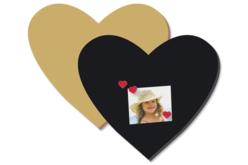 Grand Coeur en bois médium (MDF) - Supports pour mosaïques – 10doigts.fr