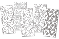 Stickers peel off assortis - 5 planches - Stickers Contours Peel Off – 10doigts.fr