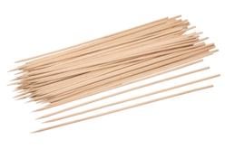 Piques à brochette en bois - 100 pièces - Bâtonnets, tiges, languettes – 10doigts.fr