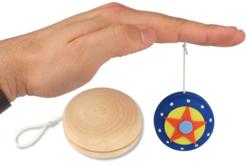 Yo-Yo en bois naturel - Divers – 10doigts.fr