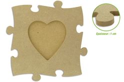 Cadre puzzle en bois médium
