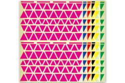 Maxi set de gommettes Triangles - Gommettes géométriques – 10doigts.fr
