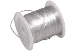 Fil nylon élastique - 12 mètres - Nylon – 10doigts.fr