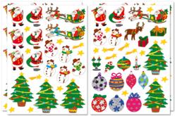 Gommettes de Noël - Gommettes de fêtes – 10doigts.fr