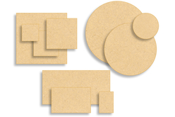 Supports plats en bois médium (MDF) - Supports plats en bois médium (MDF) – 10doigts.fr