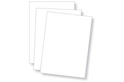 Cartes bristol blanches